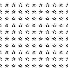 Hand drawn stars seamless pattern vector