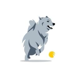Husky Dog Cartoon vector image