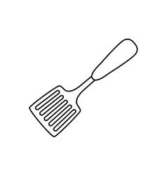 Turner kitchen utensil vector