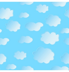 Seamless cloud vector