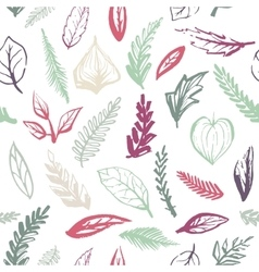 Seamless brush strokes pattern vector