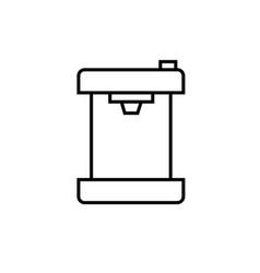 Cofee machine icon vector
