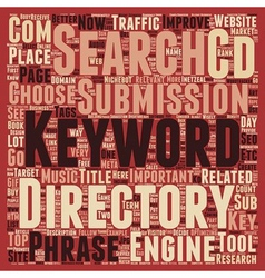 Keyword research guide how and why text background vector