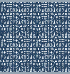 Seamless ethnic pattern scandinavian pattern vector