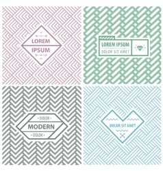 Graphic design templates for logo labels and vector