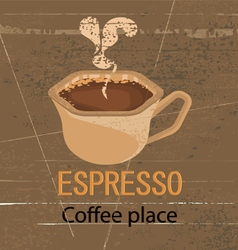 Espresso coffee vector