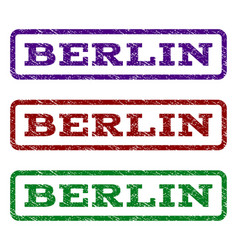 berlin watermark stamp vector image