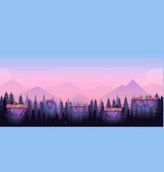 Cartoon night game background seamless vector