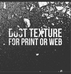 dust texture for print or web vector image vector image