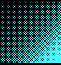 Geometric halftone dot pattern background - vector