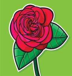 Ruza zelena podloga vector image