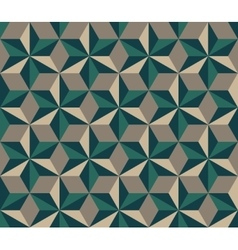Seamless Hexagonal Triangles Rhombus vector image vector image