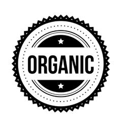 Organic vintage stamp vector image