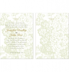 invitation background vector image