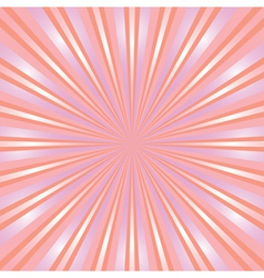 baby pink ray background vector image vector image