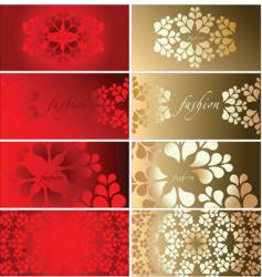 background cards vector image vector image