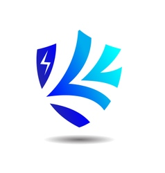 Exclusive insurance shield logo vector
