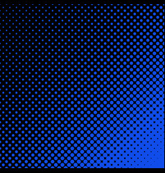 Halftone dot pattern background - design vector