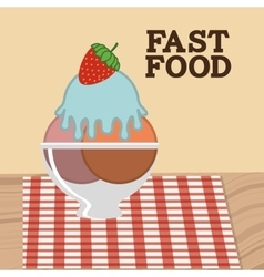 delicious and good foodesign vector image vector image