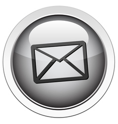 envelope email icon vector image