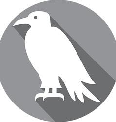 Raven Bird Icon vector image