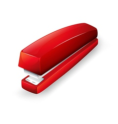 A red stapler vector