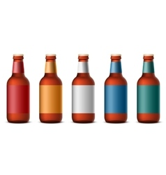 Bottle beer vector