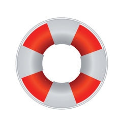 Ifebuoy for rescue drowning people vector