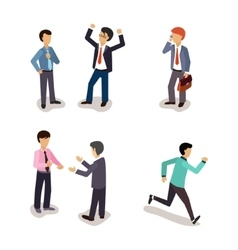 Business people everyday life vector