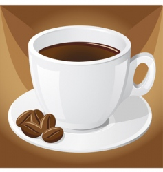 coffee and grains vector image