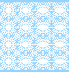 Colored seamless background floral pattern vector