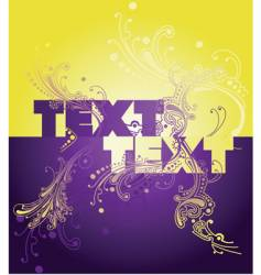 curves and text vector image