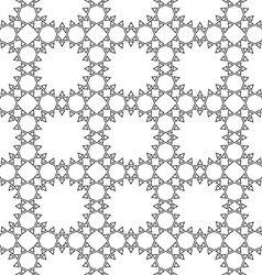 Delicate seamless ethnic pattern vector image vector image