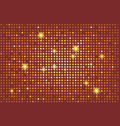 shining brown background with light flares vector image