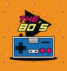 The 80s design vector