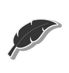 leaf plant green icon graphic vector image