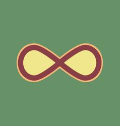 Limitless symbol cordovan vector