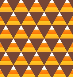 Halloween candy corn seamless pattern vector