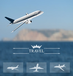 Design of tickets for worldwide travel mobile vector