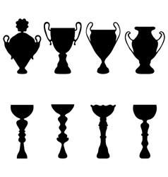 Trophies vector