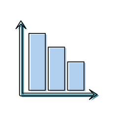 Bar graphic icon vector