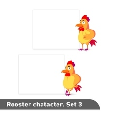 set includes two standing vector image