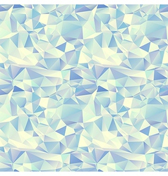 Ice seamless pattern crystal background vector