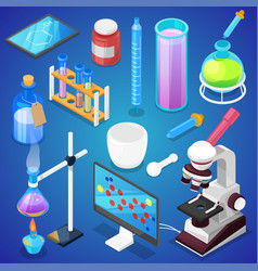Chemistry chemical science or pharmacy vector