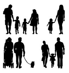 families vector image