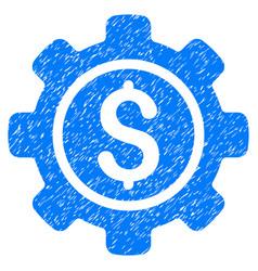 Financial tools grunge icon vector