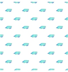 Futuristic speed train pattern cartoon style vector