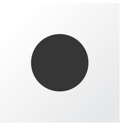 record icon symbol premium quality isolated vector image