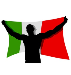 The Winner Flag vector image vector image
