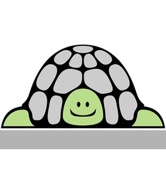 Cheerful turtle vector
